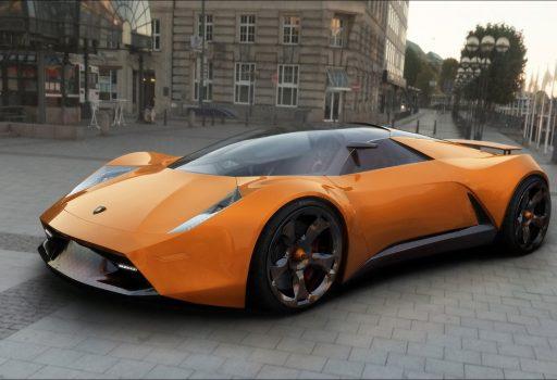 284 - WPQP1M4 - Lamborghini Insecta concept